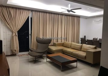 Xi Riverview Palace apartment for rent with 3 bedrooms high floor