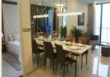 Vinhoms Golden River apartment 1 bedroom high floor block A3 view luxury river view for sale