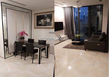 Vinhomes Golden River apartment District 1 2 bedrooms river view at block A4 low floor