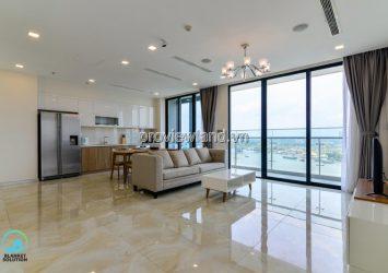 Apartment for rent 2 bedroom Aquaa 4 Vinhomes Golden River full furnished