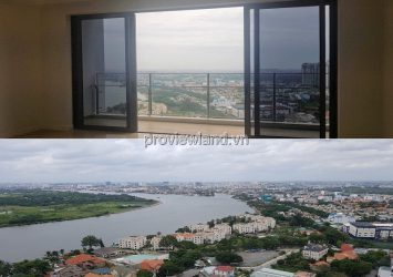 Apartment for sale in The Nassim 2 bedroom high floor fully furnished river view extremely open