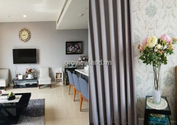 Apartment for rent in The Nassim Thao Dien Building A Low floor 2 bedrooms fully furnished nice pool view