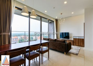 For rent apartment hight class The Nassim 3 bedrooms river view very airy