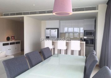 Diamond Island apartment for rent Tower T3 on middle floor 2 bedrooms very nice river view