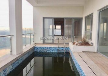 For sale Penthouse Sky Villa  in Diamond Island in the Maldives cool river view