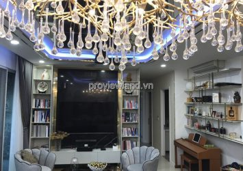Estella Heights apartment with 3 bedrooms nice furniture in T3 Tower high floor for sale