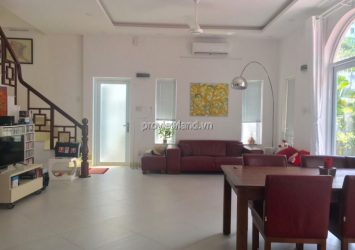 House for rent in Thao Dien, District 2, built 1 floor 110m2 fully furnished