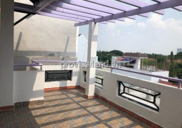 House for rent in Thao Dien with 6Brs 200m2 1 ground 3 floors