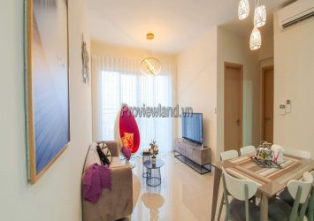 Palm Heights for rent full furnished 2 bedrooms high floor T3 tower No. 6