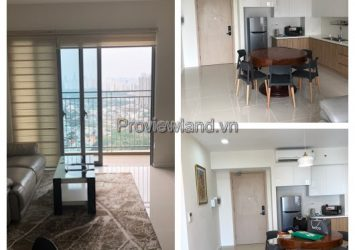 Palm Heights apartment for rent full furnished river view 2 bedrooms high floor
