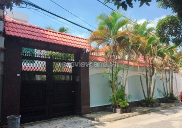 Selling luxury villas in Quoc Huong Thao Dien 400m2 3 floors pool + garden