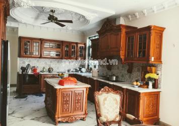 Phu Nhuan Villa for sale on Ho Bieu Chanh street 1 basement 3 floors area of 10x25m