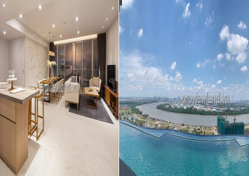 3 bedrooms luxury apartment for sale at Waterina Suites C3 Tower District 2, river view