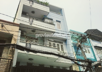 District 3 townhouse for sale 1 ground 2 floors terrace at Le Van Sy area of 240m2