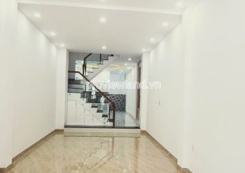 Selling townhouse frontage on Pho Duc Chinh Binh Thanh with 3 floors land area of 4x24m