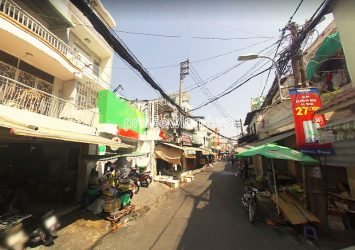 Townhouse for sale in Binh Thanh front of Phan Van Han street 4 floors area 96m2