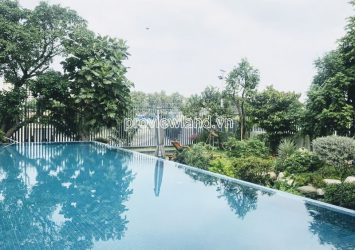 Thao Dien riverside villa for sale 1 basement 4 floors with swimming pool garden land area 1000m2