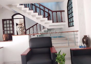 Thao Dien Villa District 2 with 1 ground 1 floor 260m2 owns luxurious design