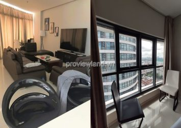 Apartment City Garden 3 bedroom for rent in Tower B2 fully furnished with pool view