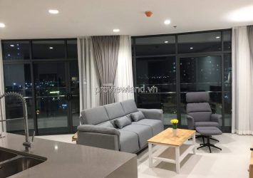 City Garden apartment for rent with 2 bedrooms full furnished  airy view