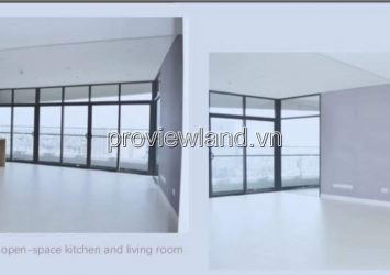 Apartment for rent City Garden  3 bedrooms area 145m2 basic furniture