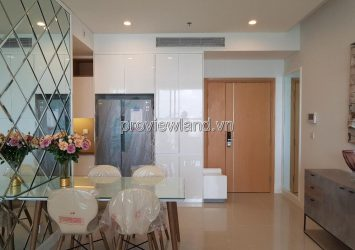 Apartment for rent in District 2 with 2 bedrooms high floor in view the park at Sarimi Sala