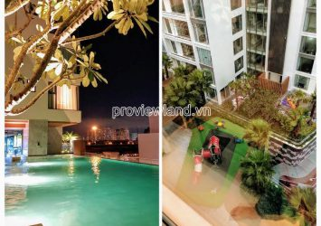 Apartment Studio nice view  on the middle floor with 1 bedroom at Gateway Thao Dien for sale