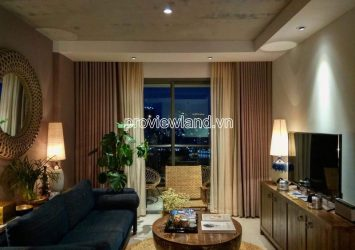 Gold View apartment for rent in District 4 with 2 bedrooms has nice view