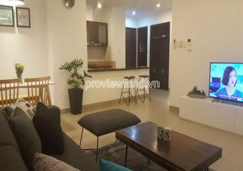 For rent low floor apartment full furniture with 2 bedrooms in Horizon Tower