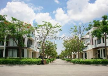 Lucasta Khang Dien Semi-detached Villa for sale includes 1 ground 2 floors
