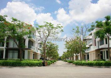 Lucasta Khang Dien Semi-detached Villa for sale includes 1 ground 2 floors