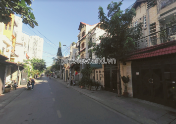 Selling townhouse in Nguyen Cu Thao Dien District 2 includes 1 ground 2 floors area of ​​96m2