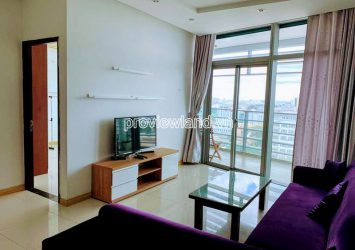 Apartment for rent in District 1 at Sailing Tower 3 bedrooms high floor nice furniture