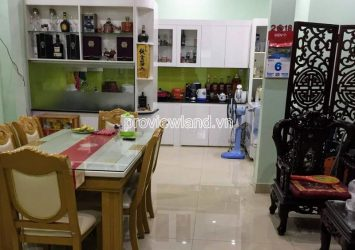 Townhouse for sale in District 2 on front of Nguyen Tuyen street 3 floors 6x17m