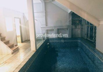 Thao Dien Nguyen Van Huong Villa for rent 4 floors 7 bedrooms 14x11m