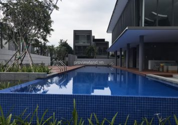 Private pool villa at Holm Villas Nguyen Van Huong for sale 3 floors 412sqm