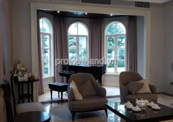 Villa for sale in Saigon Pearl 216sqm 1 basement 3 floors with 4brs