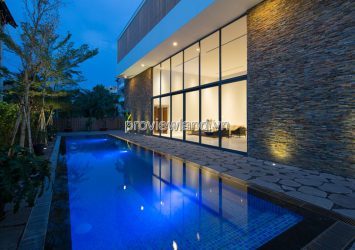 Villa Thao Dien for sale in District 2 area of 523sqm 3 floors with spacious swimming pool