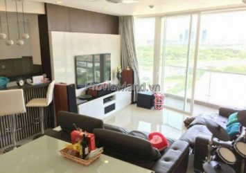 Empire City District 2 for sale luxury apartment 3 bedrooms low floor at T1 Tower