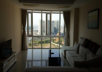 Imperia An Phu apartment for rent including 3 bedrooms high floor A1 tower with river view