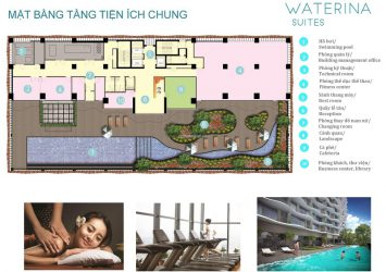 Waterina Suites Thanh My Loi apartment for sale, high floor, 3 bedroom apartment with river view