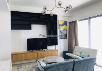 Gateway Thao Dien needs to rent 2-bedroom apartment fully furnished with high floor