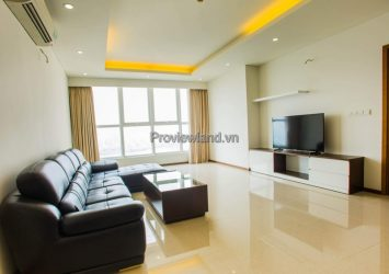 Thao Dien Pearl apartment for rent 3 bedrooms view Landmark81 full furnished