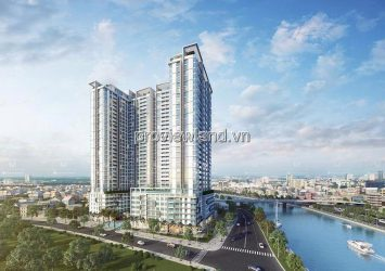 Apartment for rent in Masteri Millennium in District 4 high floor with 2 bedrooms