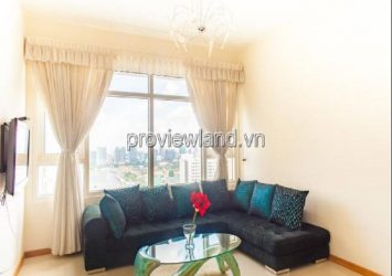 Saigon Pearl apartment for rent with 2 bedrooms very nice view full furnished high floor