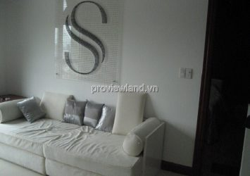 The Manor Nguyen Huu Canh apartment with simple furniture 2 bedrooms for sale