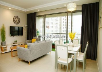 Apartment 2 bedrooms low floor full of nice furniture pool view in Diamond Island for rent