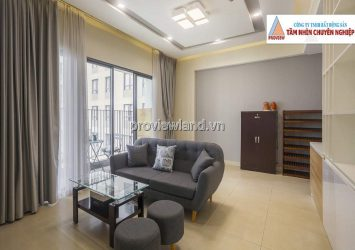 Masteri Thao Dien apartment for rent with full furnished 2 bedrooms with pool view