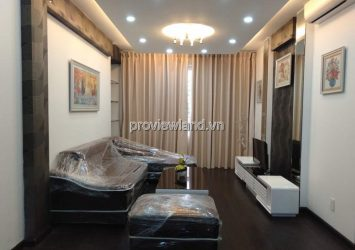 Apartment Tropic Garden block C1 low floor 3 bedrooms river view for rent