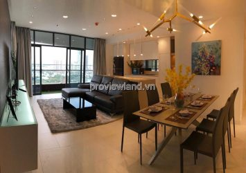 City Garden apartment for rent with 3 bedrooms full furnished nice view Landmark 81 cool